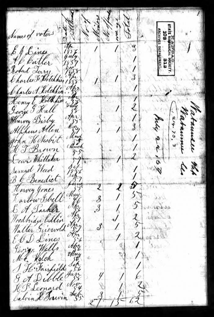 1859 Kansas Territorial Census